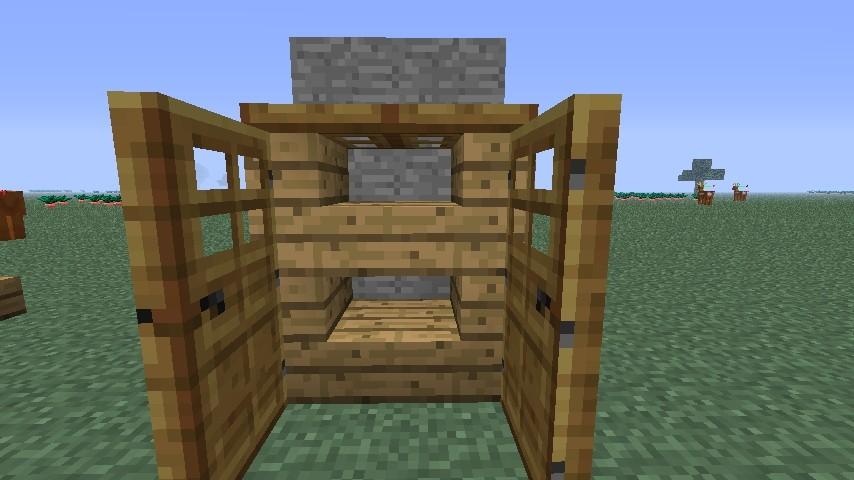 Kleiderschrank in minecraft bauen minecraft - Minecraft schlafzimmer ...