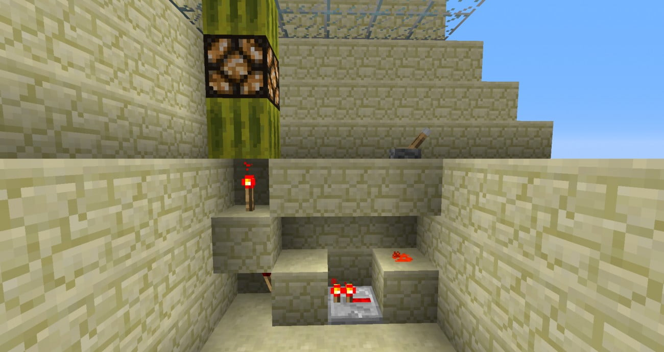 ᐅ 1 Block Uber Boden Lampe In Minecraft Bauen Minecraft Bauideen De