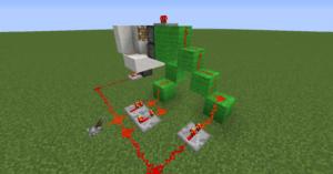 minecart t r in minecraft bauen minecraft. Black Bedroom Furniture Sets. Home Design Ideas