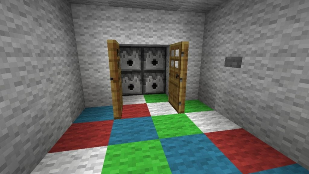 ankleidekammer in minecraft bauen minecraft. Black Bedroom Furniture Sets. Home Design Ideas