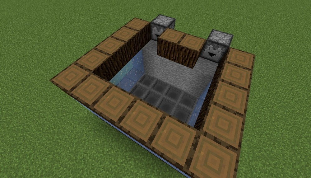 aquarium mit fischen in minecraft bauen minecraft. Black Bedroom Furniture Sets. Home Design Ideas