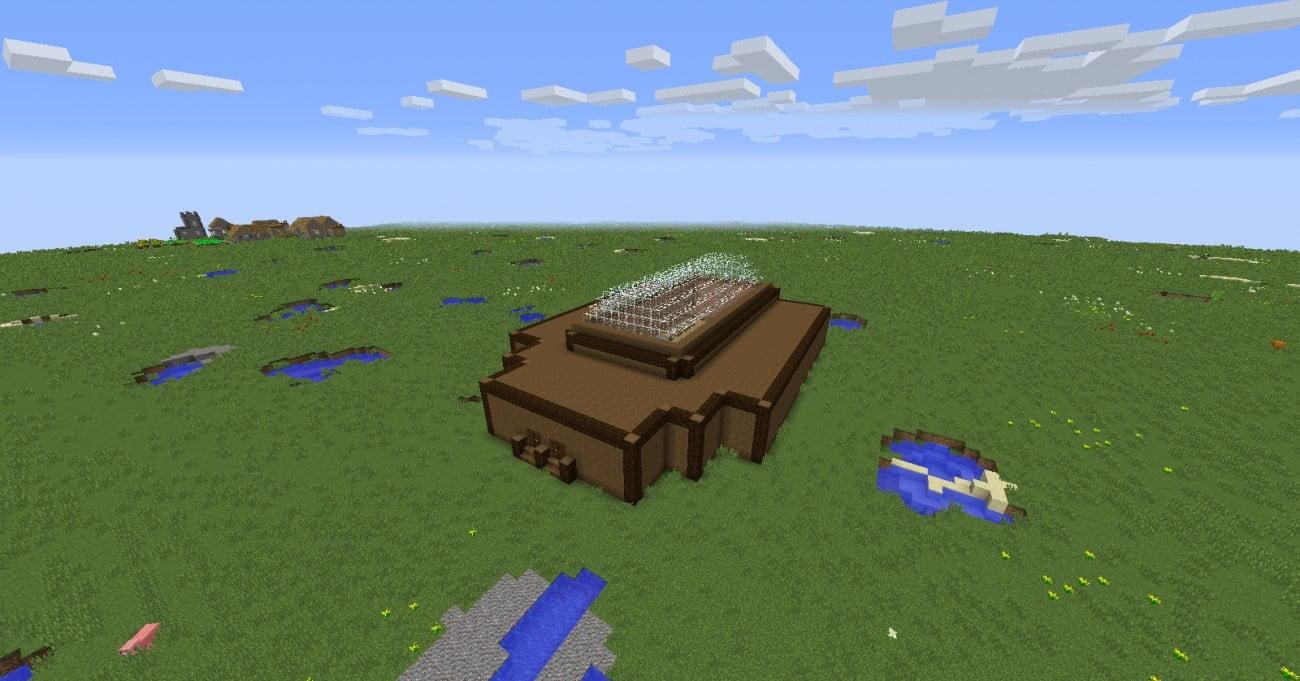 aquarium in minecraft bauen minecraft. Black Bedroom Furniture Sets. Home Design Ideas