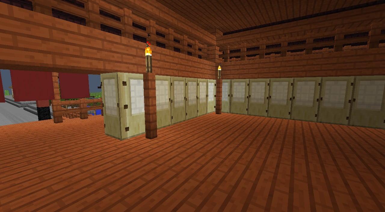 asiastyle wand in minecraft bauen minecraft. Black Bedroom Furniture Sets. Home Design Ideas