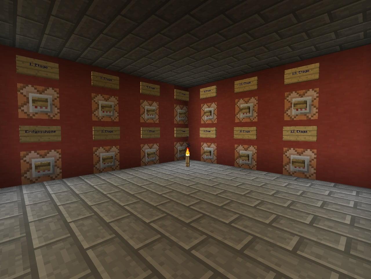 ᐅ Aufzug Mit BefehlsblöckenKommandoblöcken In Minecraft Bauen - Minecraft spieler nach hause teleportieren