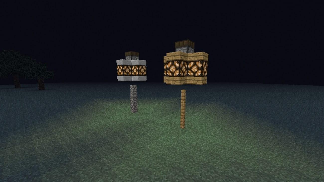 automatische redstone laterne in minecraft bauen minecraft. Black Bedroom Furniture Sets. Home Design Ideas