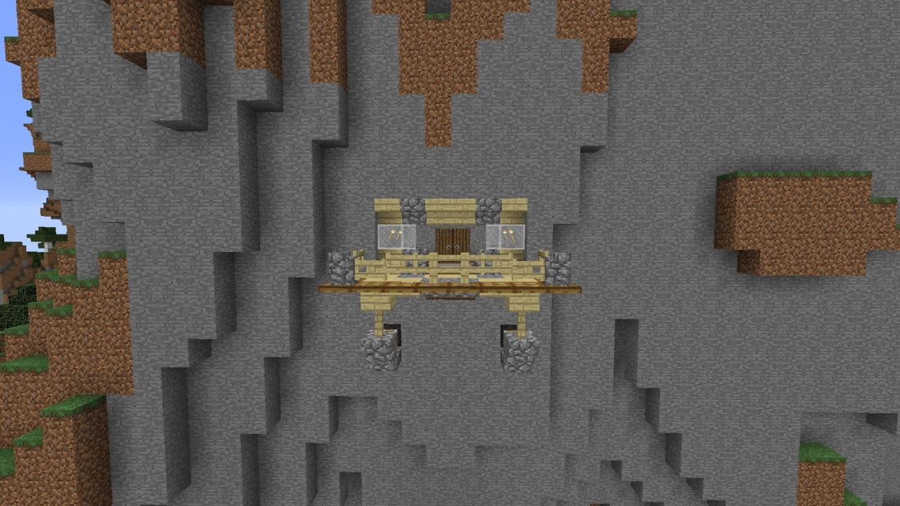 ᐅ Balkon Mit Windrauschen In Minecraft Bauen Minecraft Bauideen De