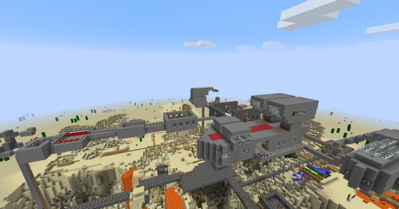 ᐅ basis in der luft in minecraft bauen - minecraft-bauideen.de