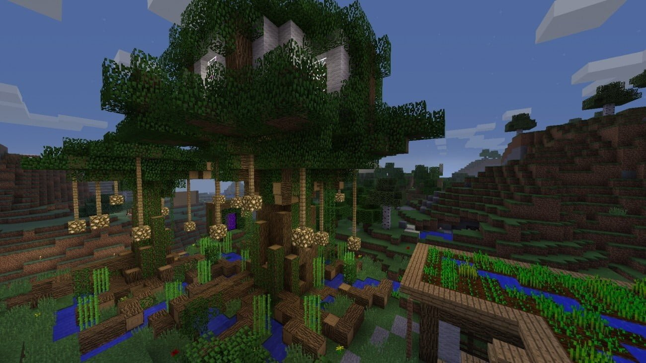 ᐅ Baumhaus in Minecraft bauen - minecraft-bauideen.de