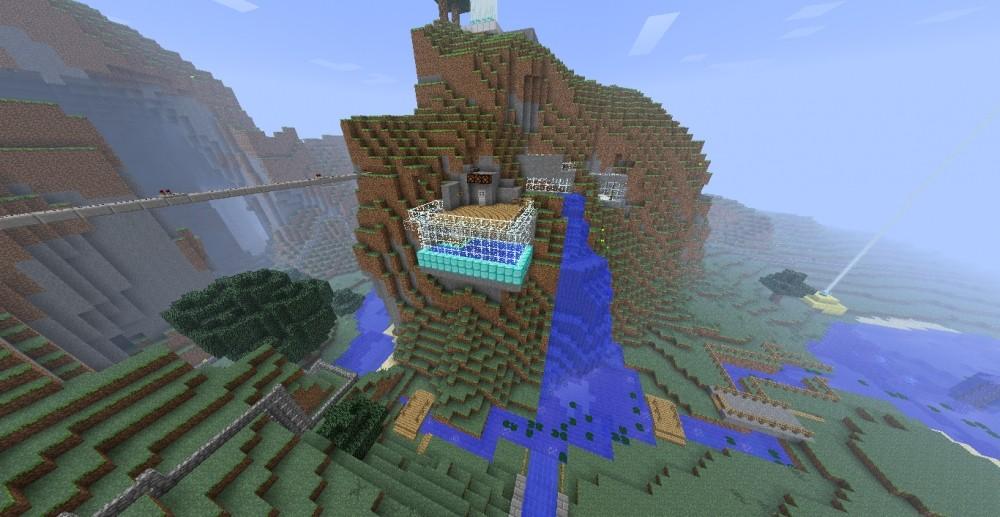 ᐅ Berghaus In Minecraft Bauen Minecraftbauideende - Minecraft haus bauen im berg