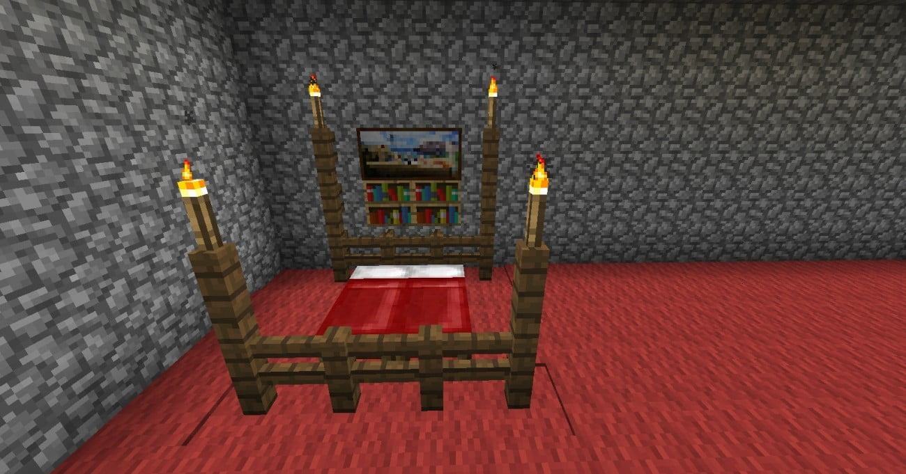 ᐅ Bett In Minecraft Bauen Minecraft Bauideen De