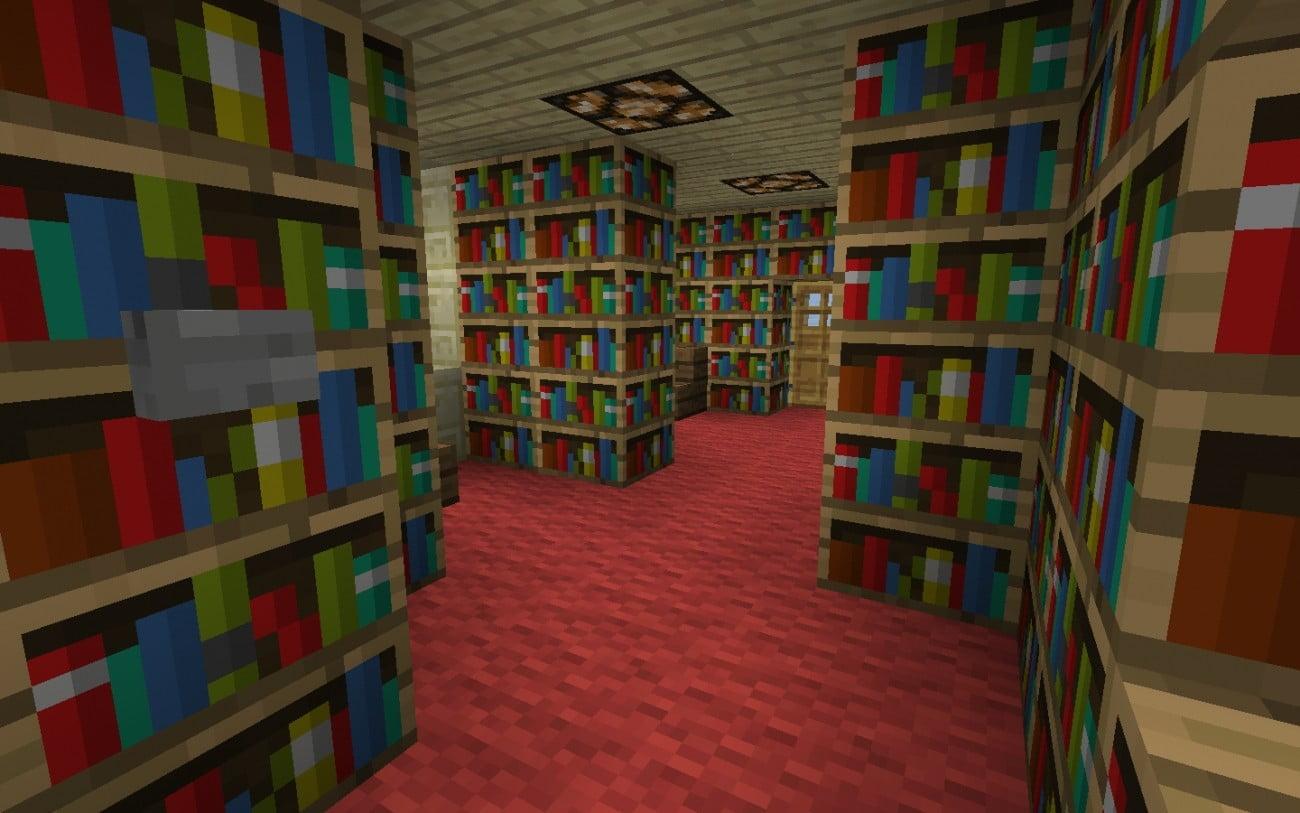 Minecraft bibliothekar