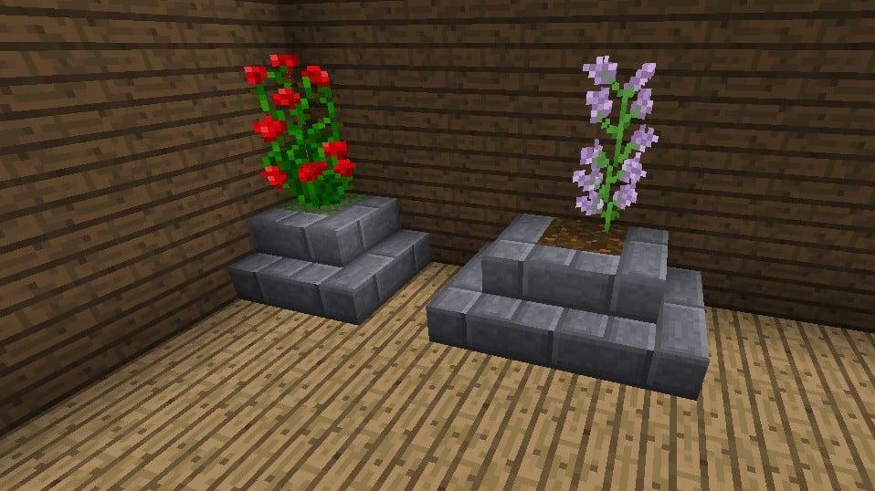 Blumentopf in minecraft bauen minecraft for Minecraft dekoration