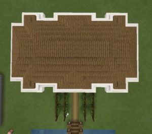 Grundriss der Villa
