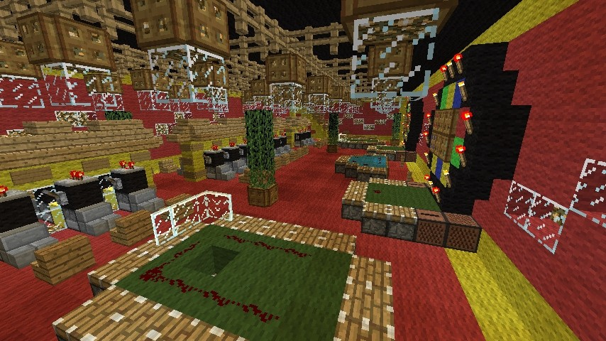 Minecraft Casino Bauen