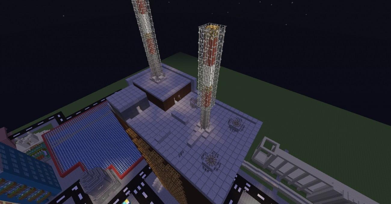 ᐅ Dächer Für Hochhäuser Und Plattenbauten In Minecraft Bauen - Minecraft hochhauser