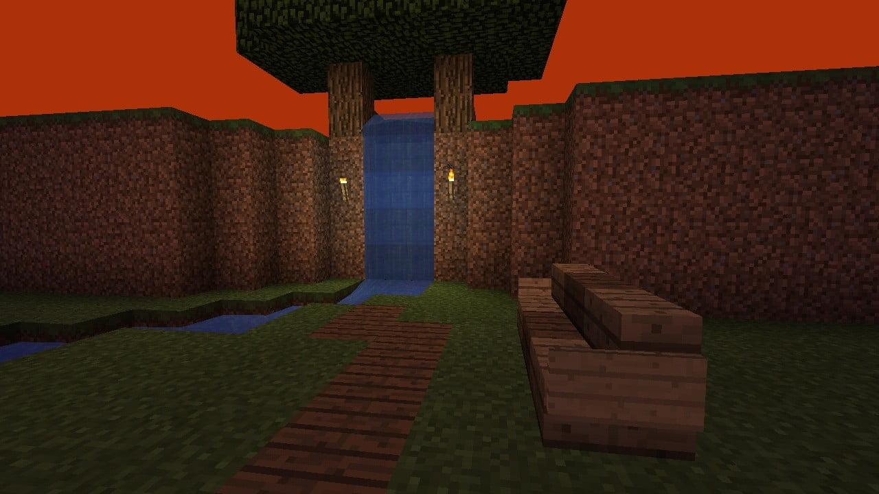 ᐅ Deko Wasserfall in Minecraft bauen - minecraft-bauideen.de