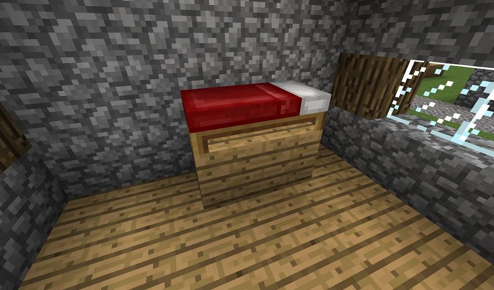 ᐅ doppelstockbett in minecraft bauen - minecraft-bauideen.de, Hause deko