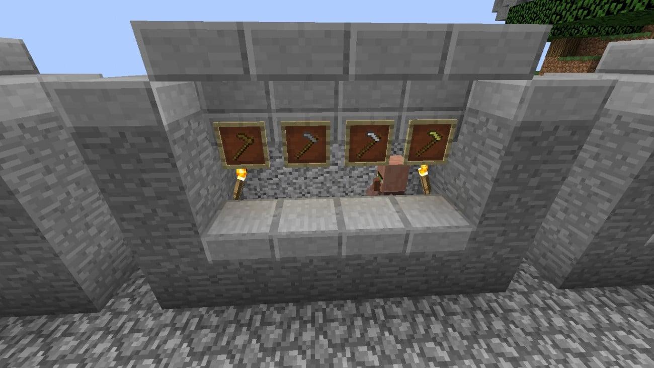 ᐅ Dorfbewohner Mit Eigenen Angeboten In Minecraft Bauen Minecraft - Minecraft dorfbewohner bauen hauser mod