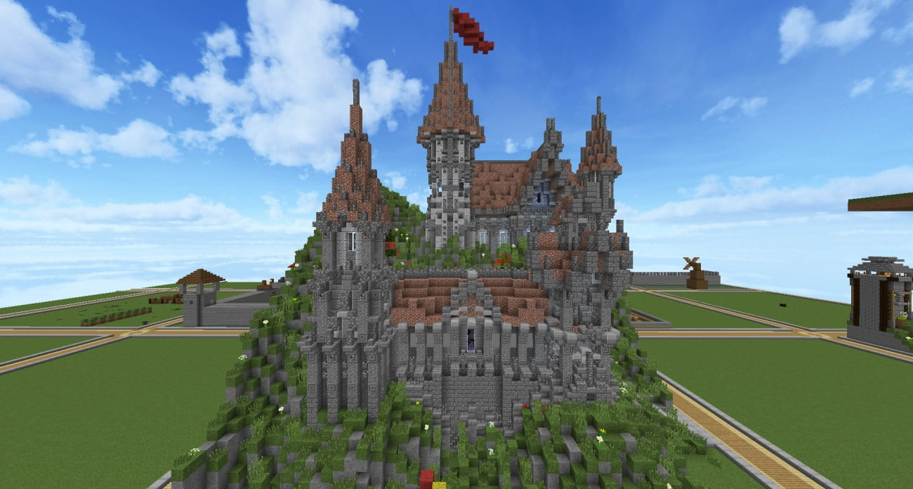 Minecraft To Build A Castle