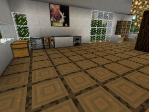 ein schickes modernes haus in minecraft bauen minecraft. Black Bedroom Furniture Sets. Home Design Ideas