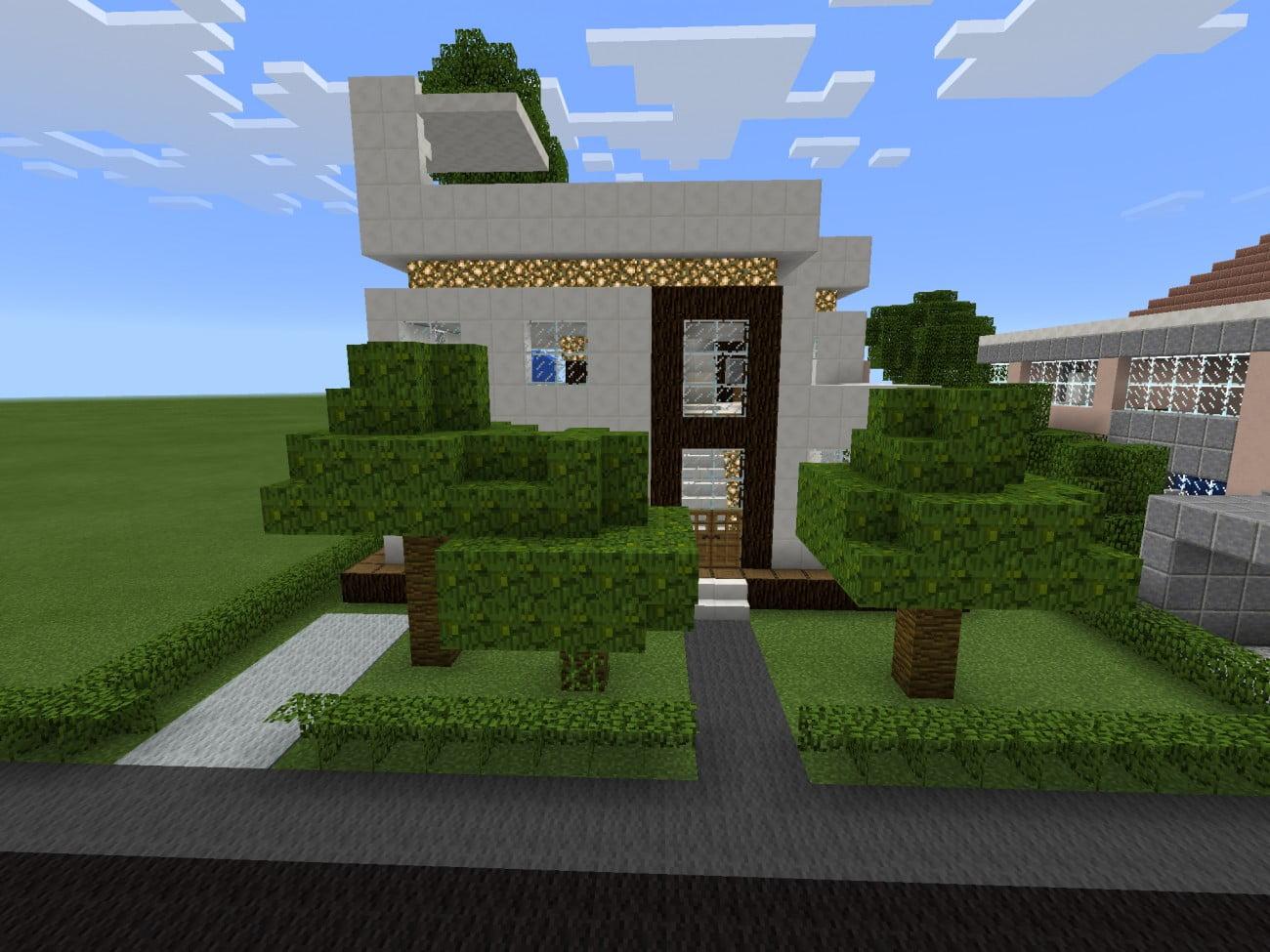 ᐅ Ein schickes modernes Haus in Minecraft bauen - minecraft-bauideen.de