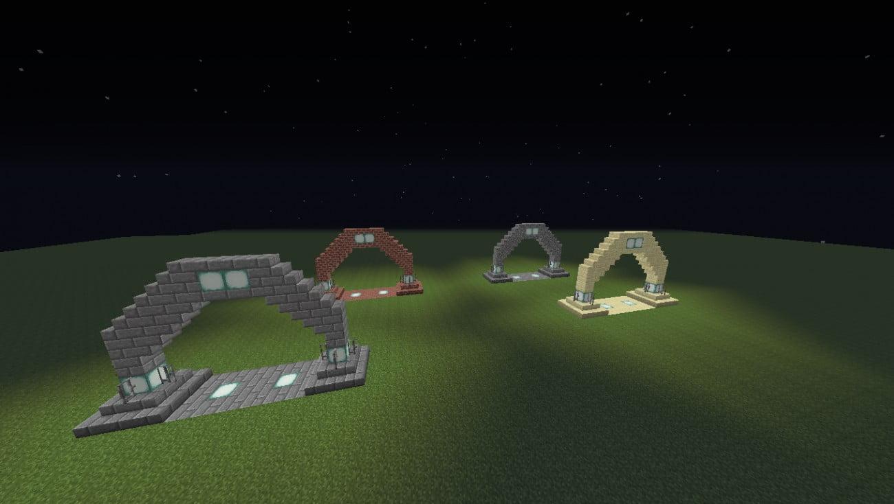 Bevorzugt ᐅ Einfacher Torbogen (Stadttor) in Minecraft bauen - minecraft YX88
