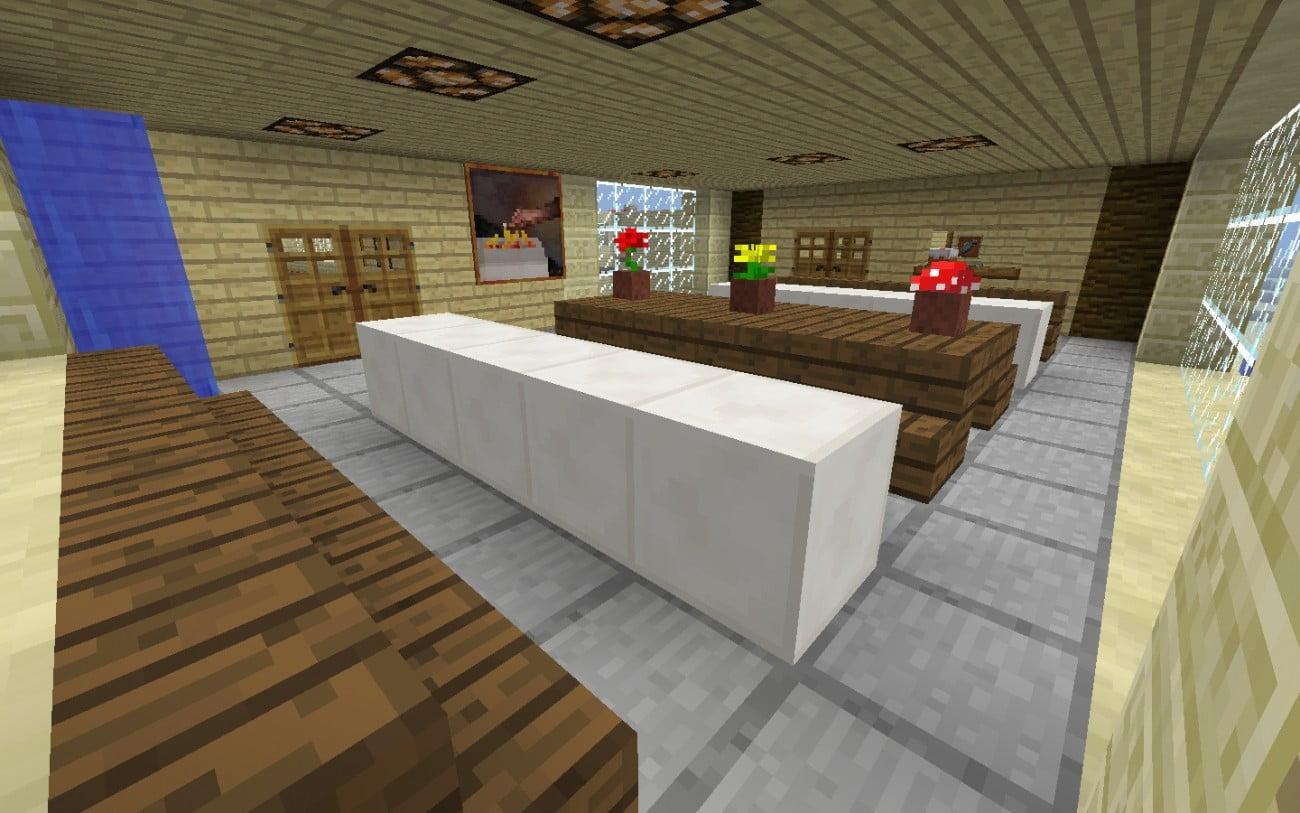 ᐅ Esszimmer in Minecraft bauen - minecraft-bauideen.de