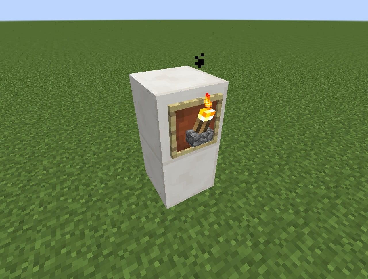 ᐅ Fackel mit Halterung in Minecraft bauen - minecraft-bauideen.de