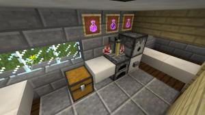 familienhaus in minecraft bauen minecraft. Black Bedroom Furniture Sets. Home Design Ideas