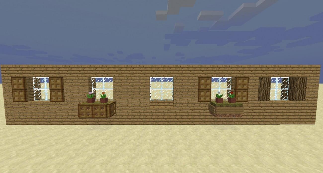 Fenster mit dekorationen in minecraft bauen minecraft - Minecraft dekoration ...
