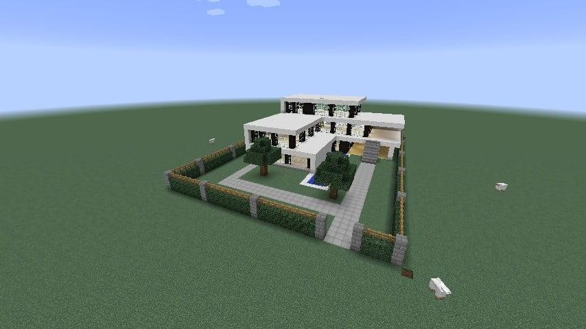 ᐅ Ferienhaus In Minecraft Bauen Minecraftbauideende - Minecraft hauser verbessern