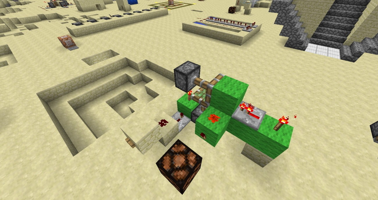 Minecraft schalter