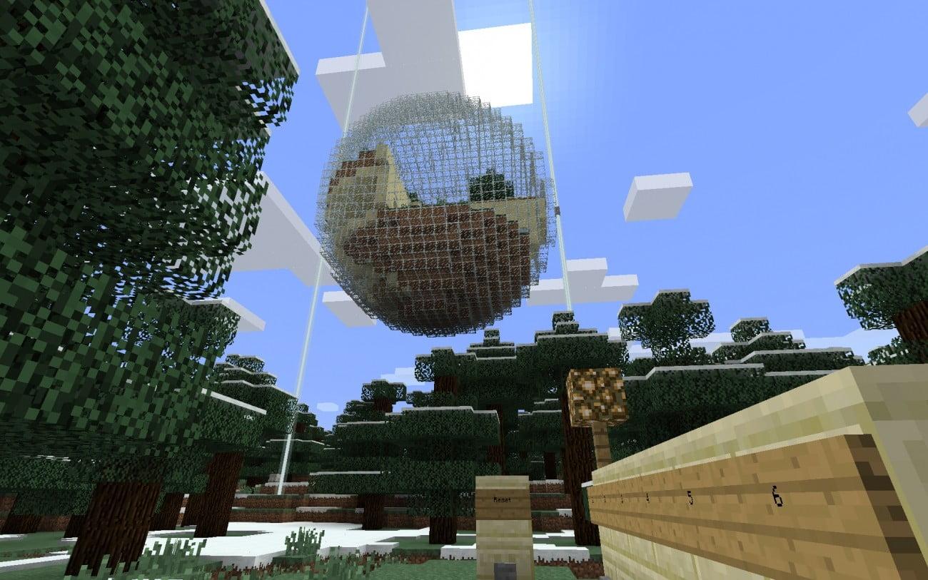 ᐅ Futuristisches KugelHaus In Minecraft Bauen Minecraftbauideende - Minecraft hauser schnell bauen