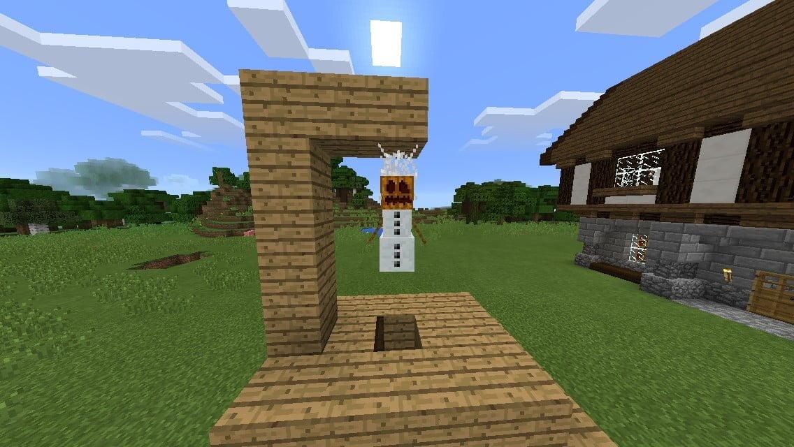 ᐅ Galgen In Minecraft Bauen Minecraft Bauideen De