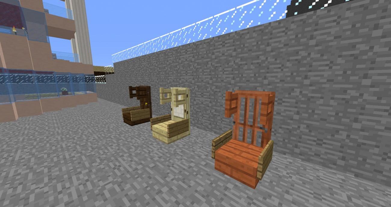 gamerstuhl in minecraft bauen minecraft. Black Bedroom Furniture Sets. Home Design Ideas