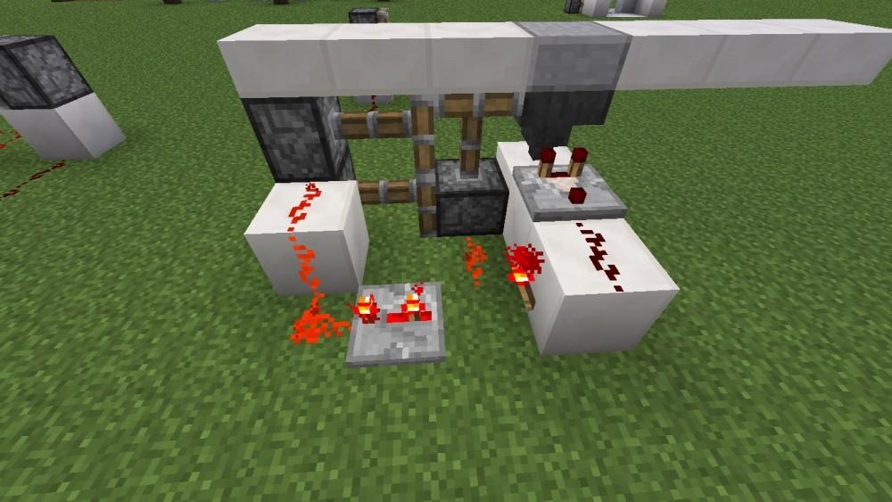 geheimt r im boden in minecraft bauen minecraft. Black Bedroom Furniture Sets. Home Design Ideas