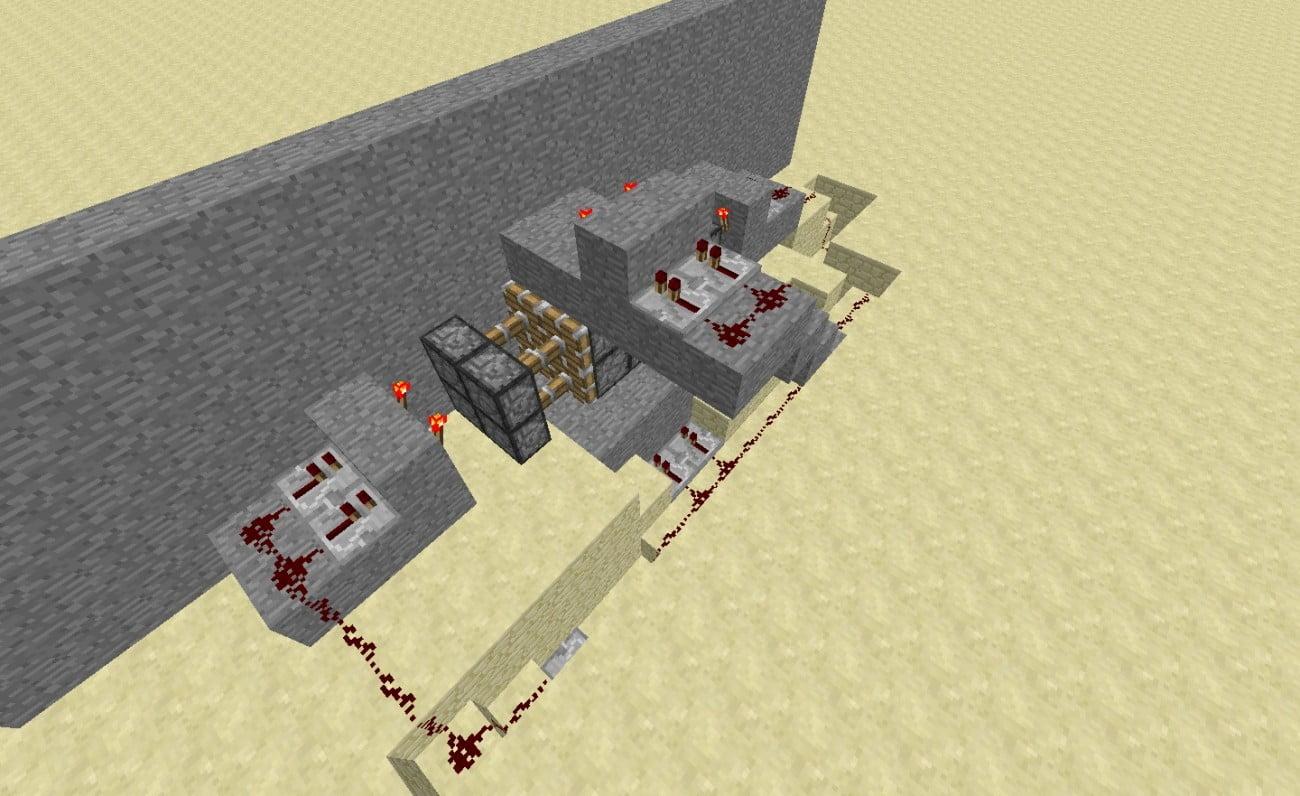 geheimt r in minecraft bauen minecraft. Black Bedroom Furniture Sets. Home Design Ideas