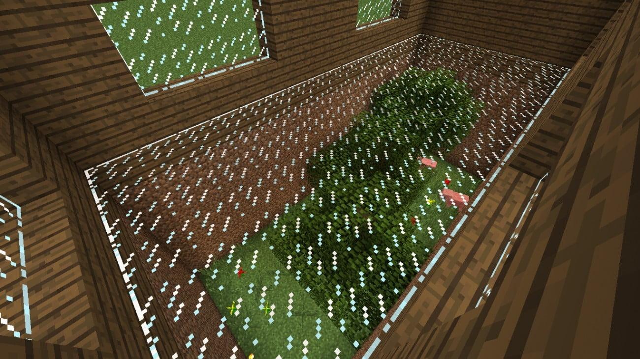 gestalteter fu boden in minecraft bauen minecraft. Black Bedroom Furniture Sets. Home Design Ideas
