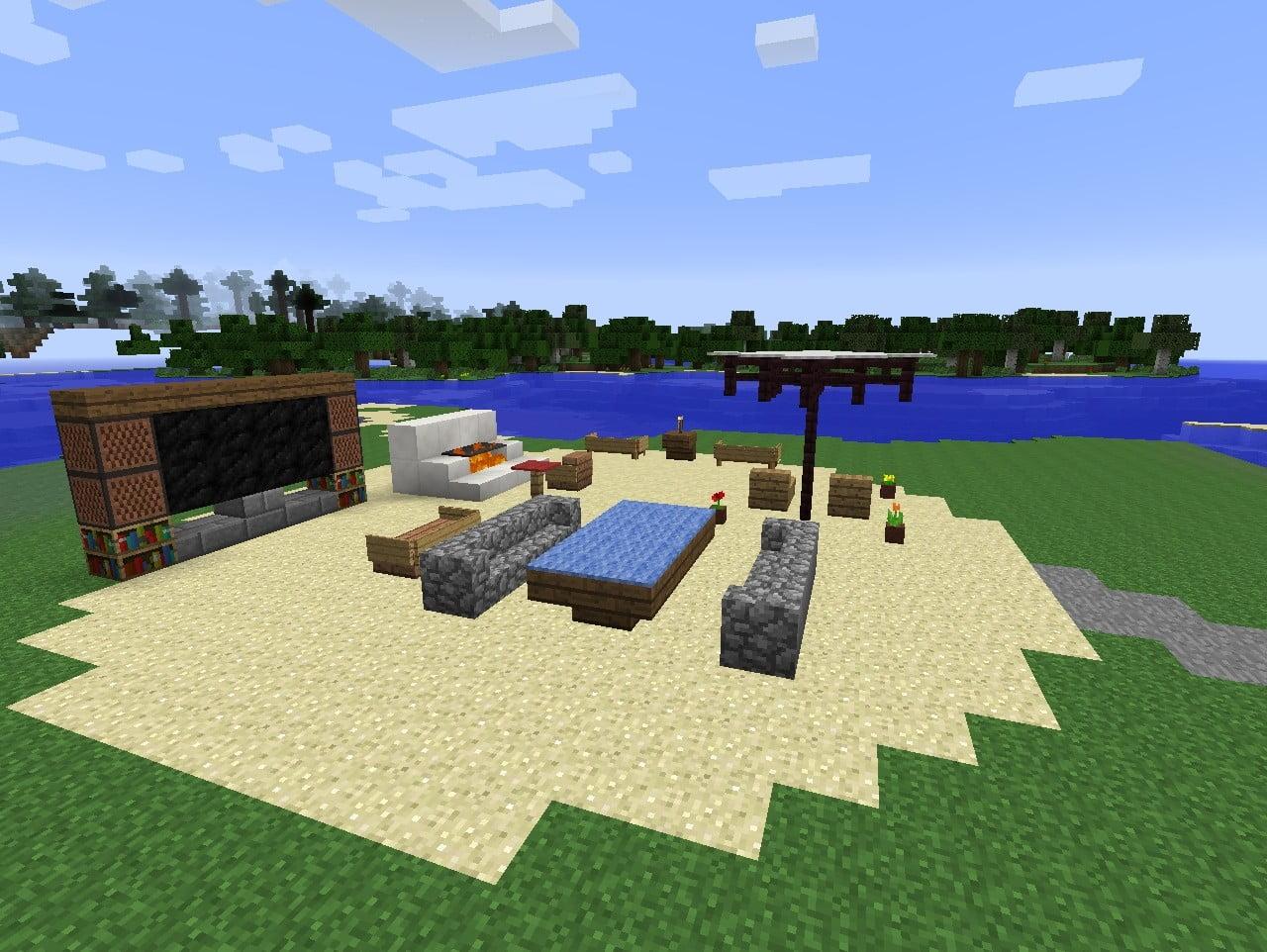 ᐅ grillplatz in minecraft bauen - minecraft-bauideen.de
