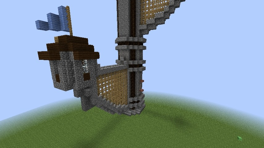 gro er burgturm in minecraft bauen minecraft. Black Bedroom Furniture Sets. Home Design Ideas