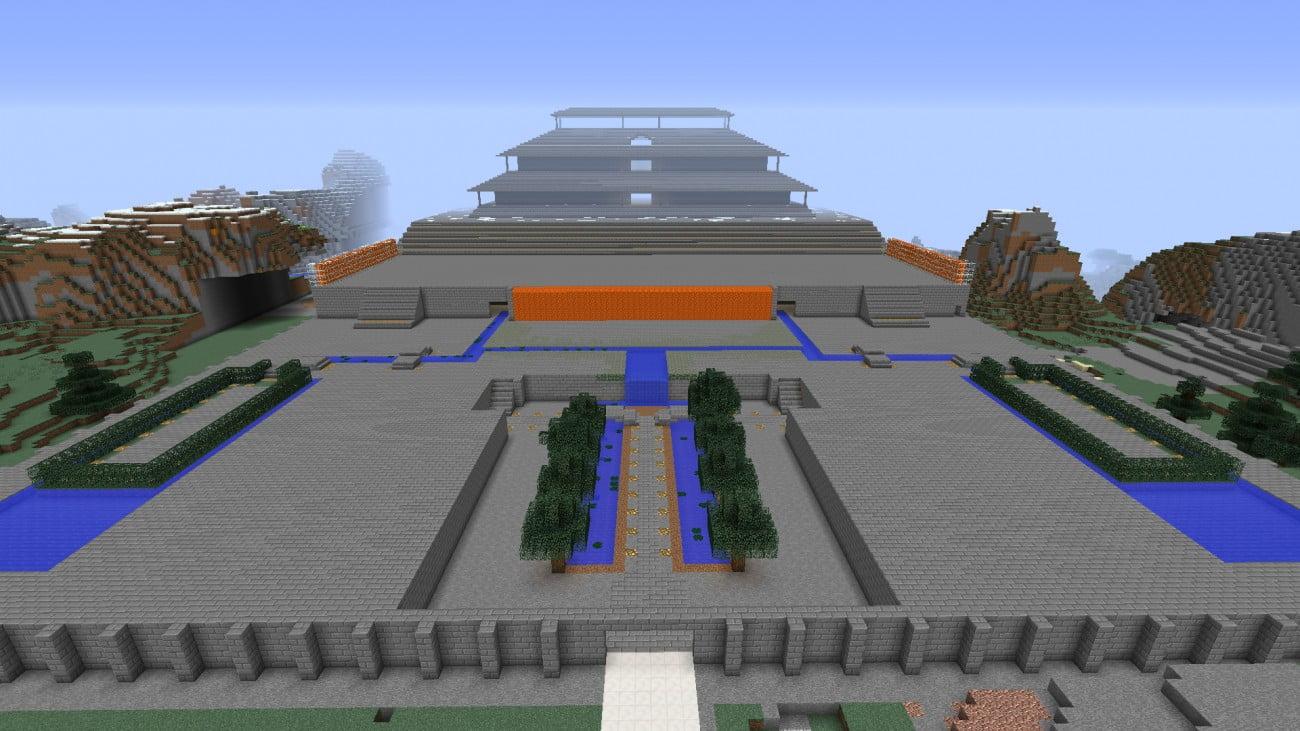 ᐅ Großer Palast in Minecraft bauen - minecraft-bauideen.de