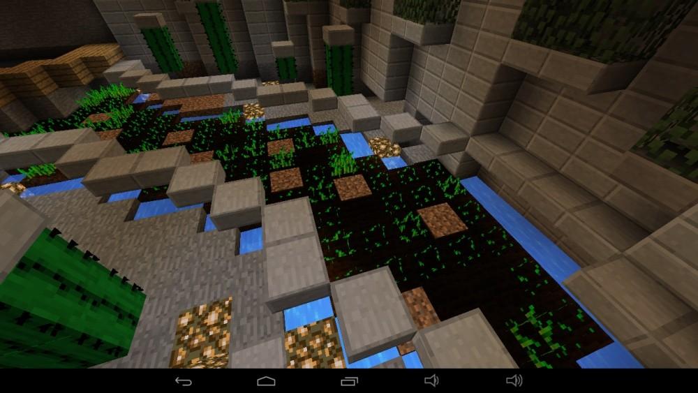 ᐅ Großes Abstraktes Haus Am Berg In Minecraft Bauen Minecraft - Minecraft haus im berg ideen