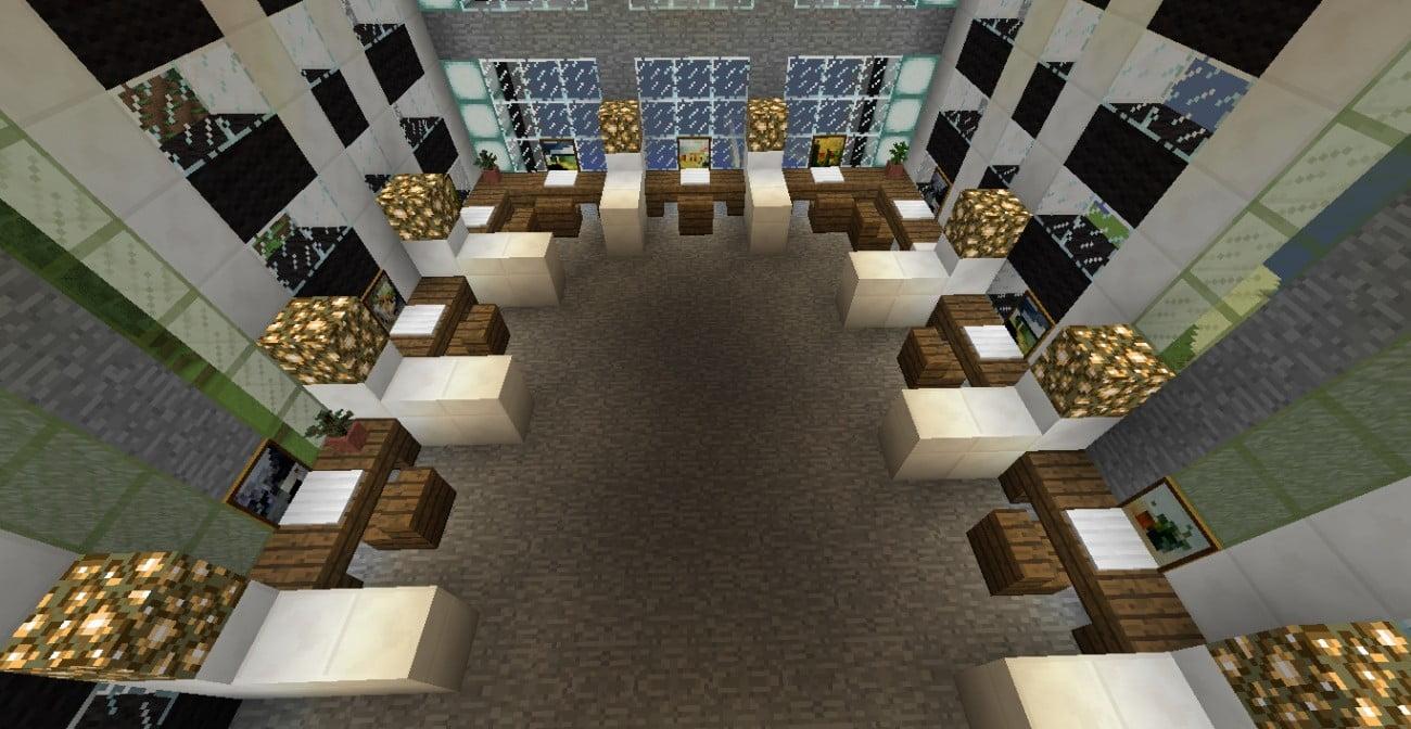 ᐅ Großraumbüro in Minecraft bauen - minecraft-bauideen.de