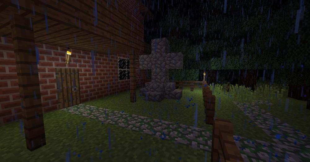 ᐅ Gruselhaus In Minecraft Bauen Minecraftbauideende - Minecraft haus bauen grob