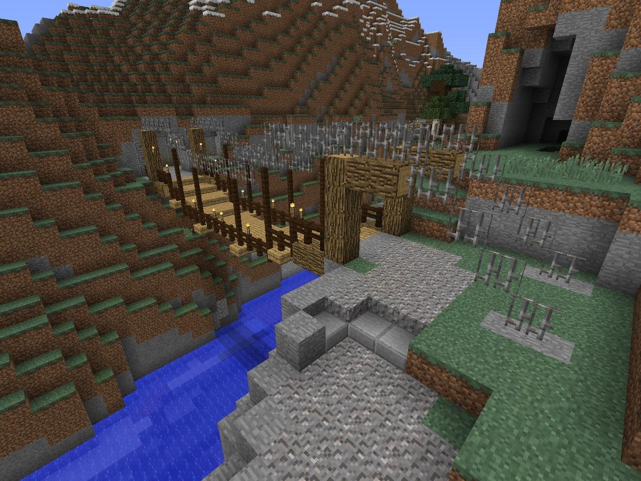 burg bauen