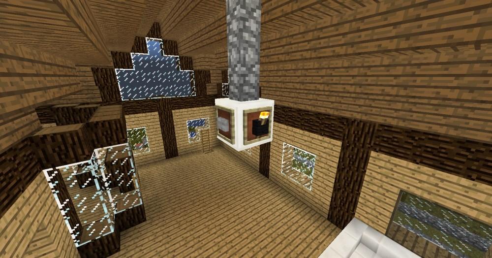 Heimkino wohnzimmer minecraft bauideen - Minecraft wohnzimmer ...