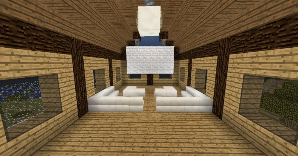 Heimkino wohnzimmer in minecraft bauen minecraft - Minecraft wohnzimmer ...