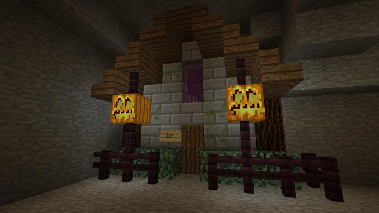 ᐅ Hexenhaus Tränke Und Allerlei In Minecraft Bauen Minecraft - Minecraft hexenhauser