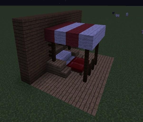 ᐅ himmelbett in minecraft bauen - minecraft-bauideen.de, Hause deko
