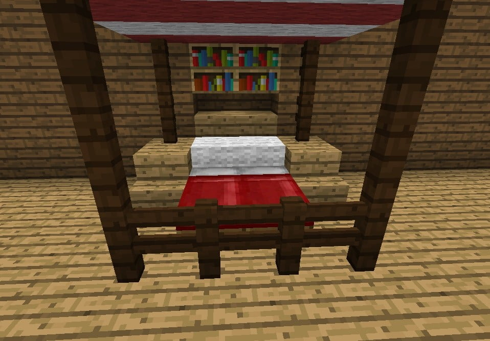 How To Craft Bed In Minecraft